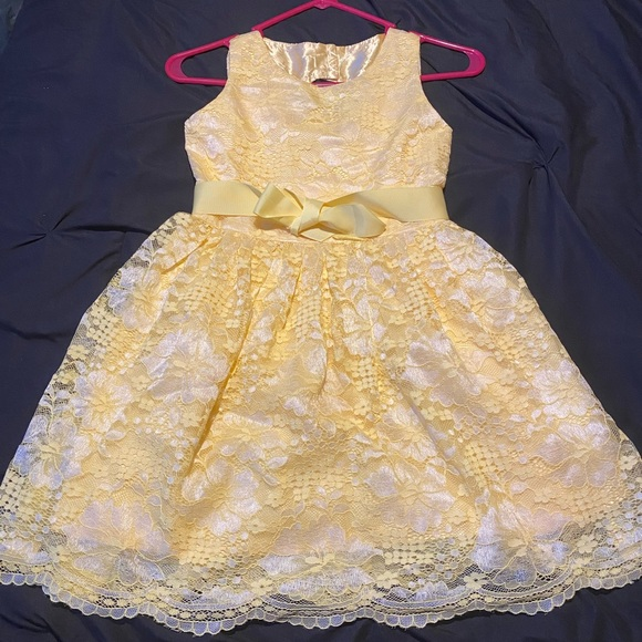 Children's Place Lace Overlay Dress
